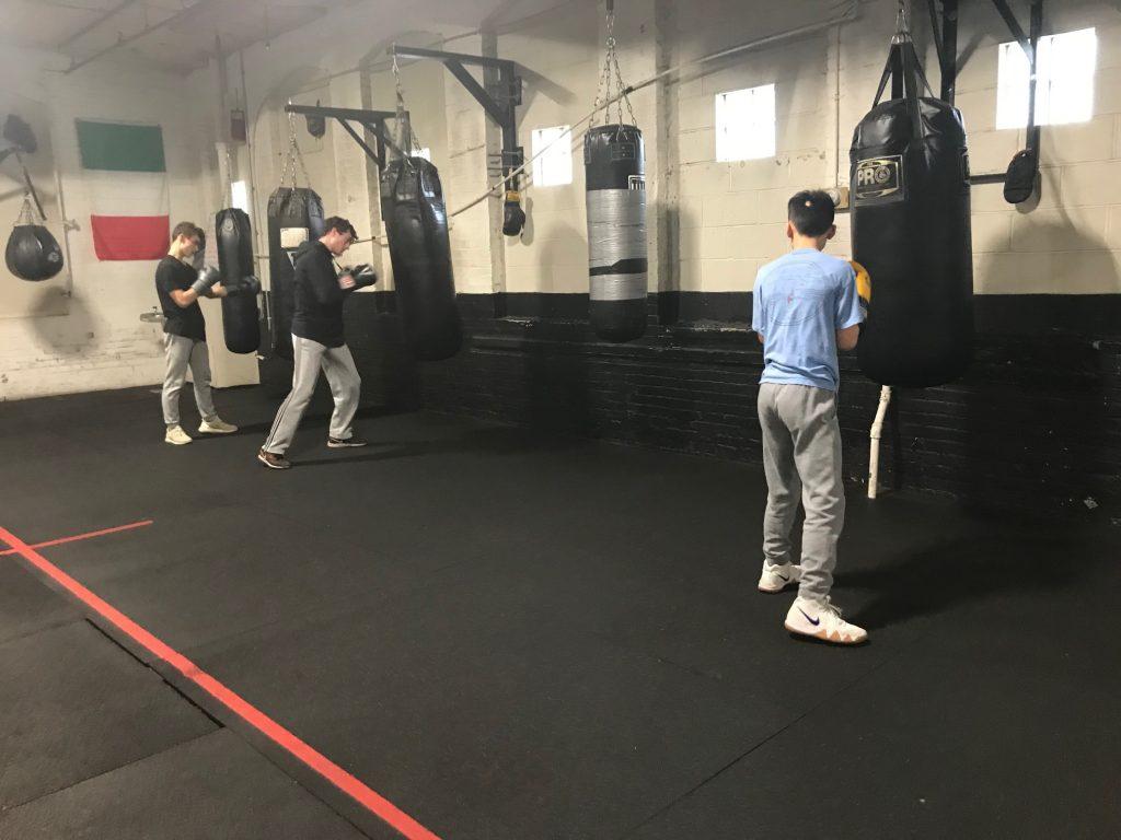 Tai Lee Boxing at Nonantum Boxing Club