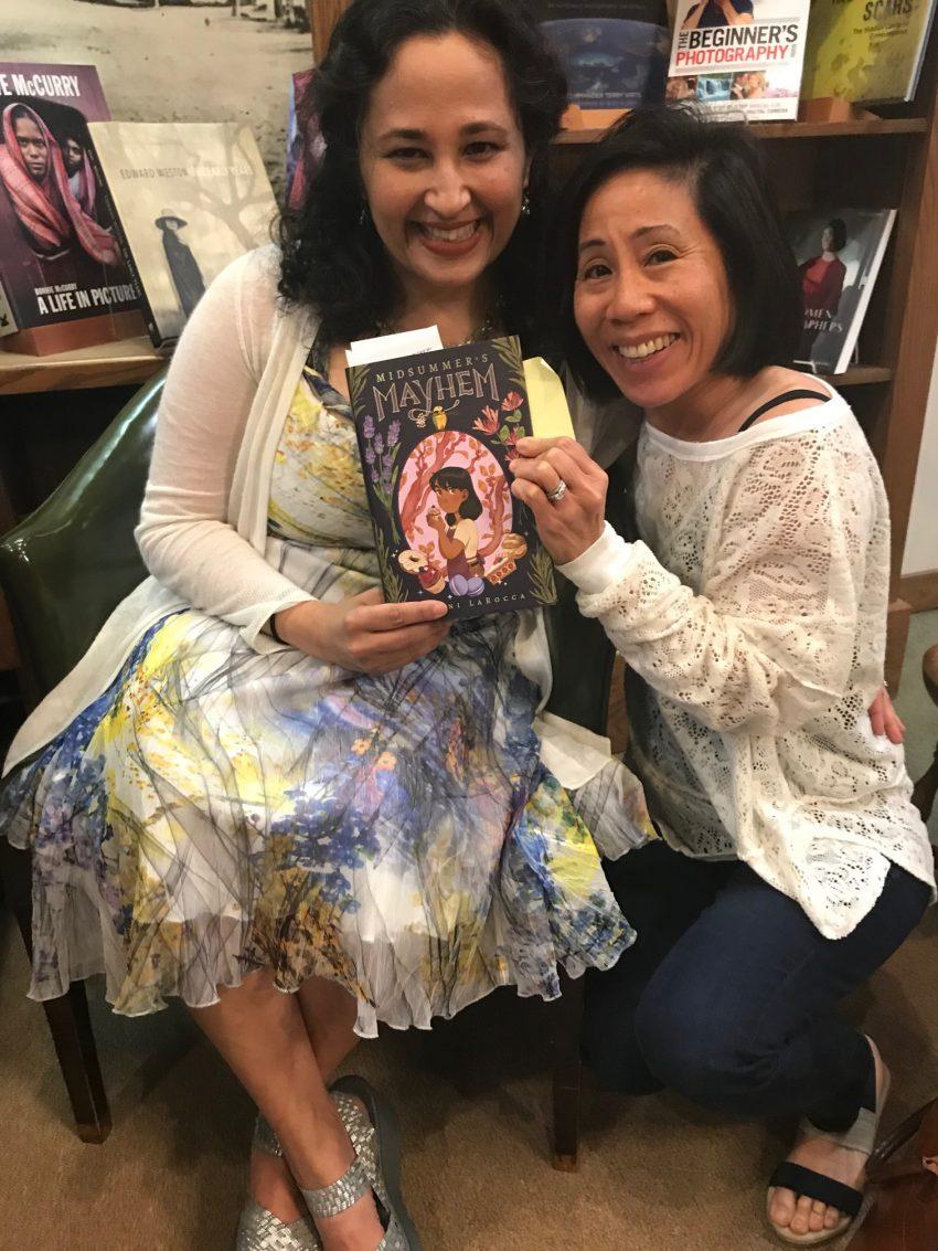 Rajani LaRocca Midsummer's Mayhem at The Concord Bookshop