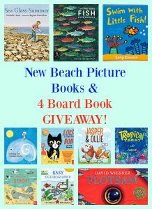 New Beach Picture Books & 4 Board Book GIVEAWAY!