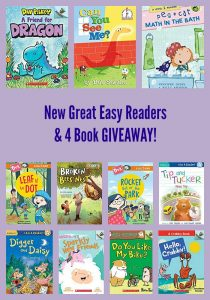 New Great Easy Readers & 4 Book GIVEAWAY!