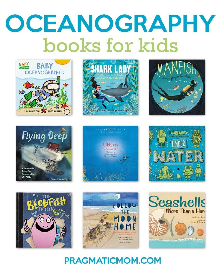 Oceanography Books for Kids