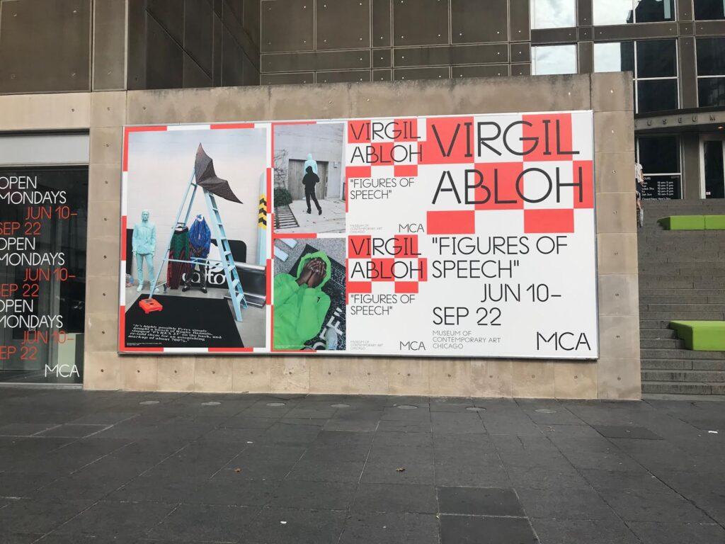 "Virgil Abloh ""Figures of Speech"" exhibit"