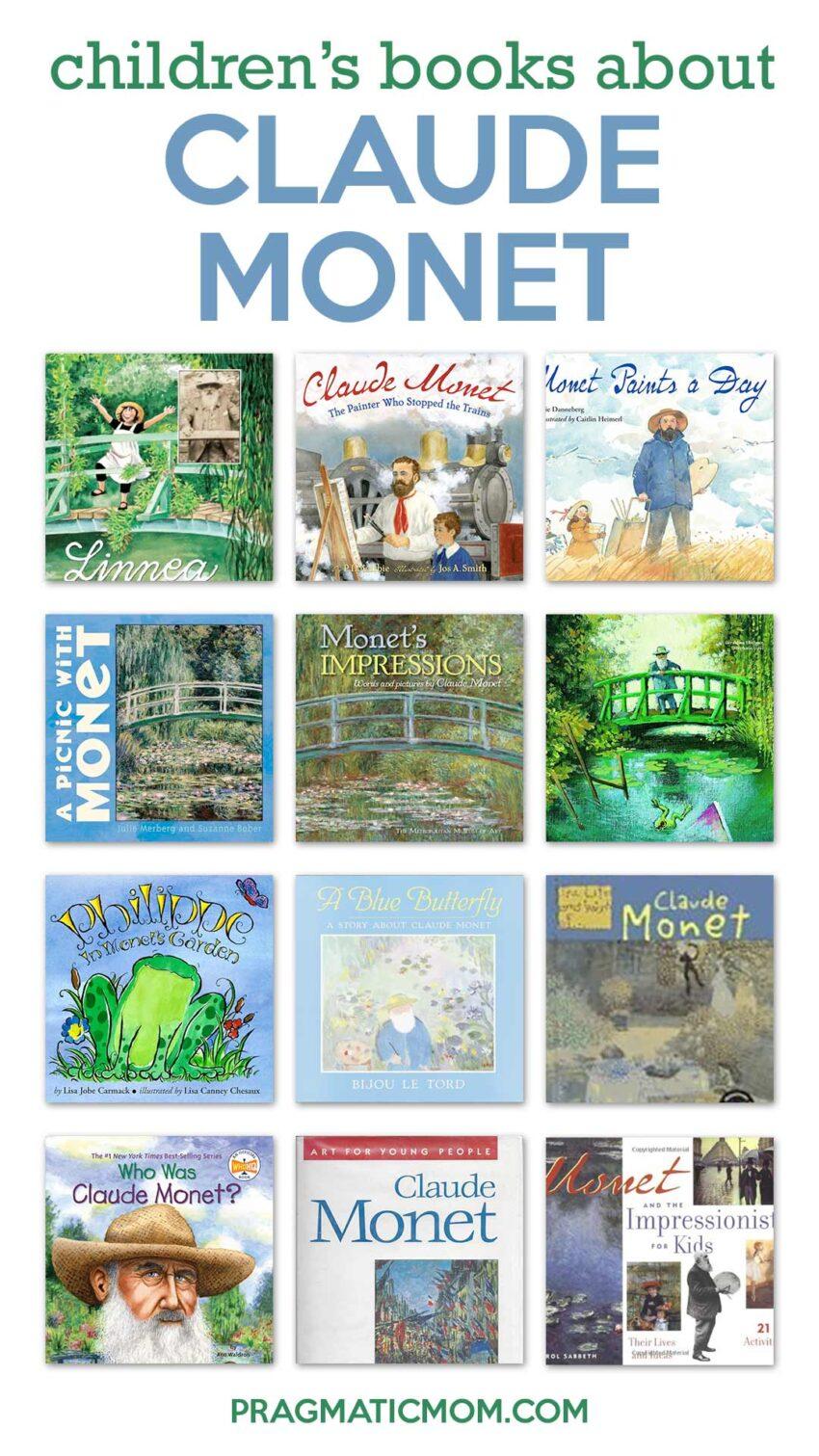 Children's Books about Claude Monet