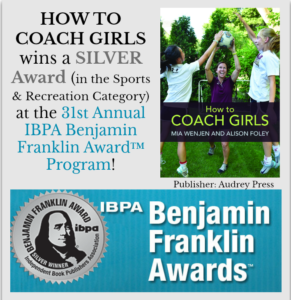 How To Coach Girls silver award winner