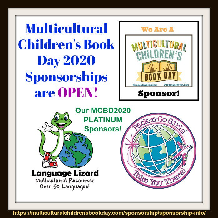 Multicultural Children's Book Day 2020 Sponsorships are OPEN!