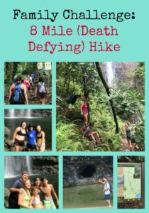 Family Challenge: 8 Mile (Death Defying) Hike