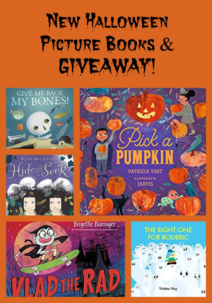 New Halloween Picture Books & GIVEAWAY!