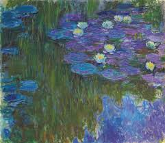 Monet waterlily pond paintings