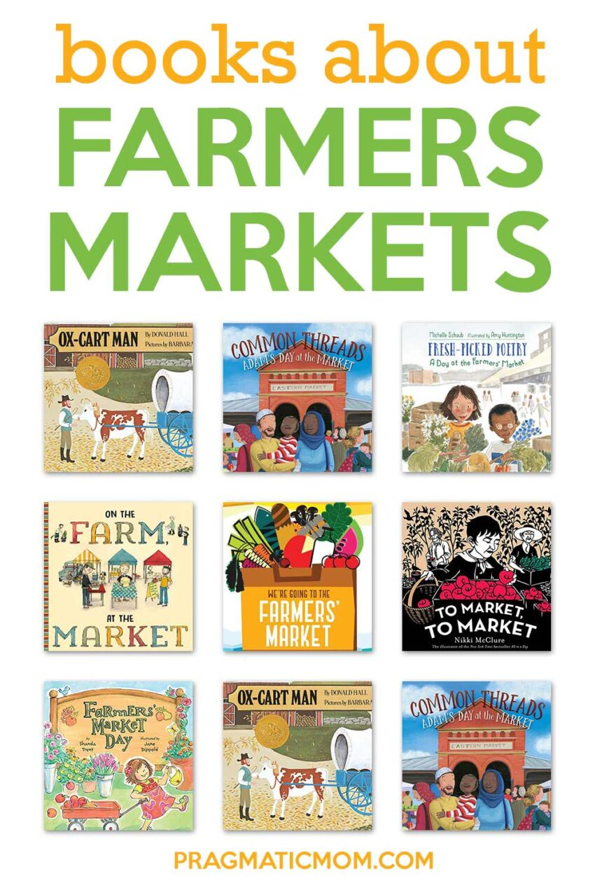 Picture books about farmers markets