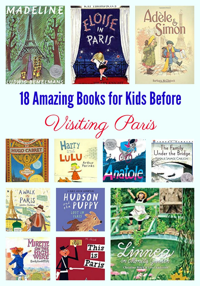 18 Amazing Books for Kids Before Visiting Paris
