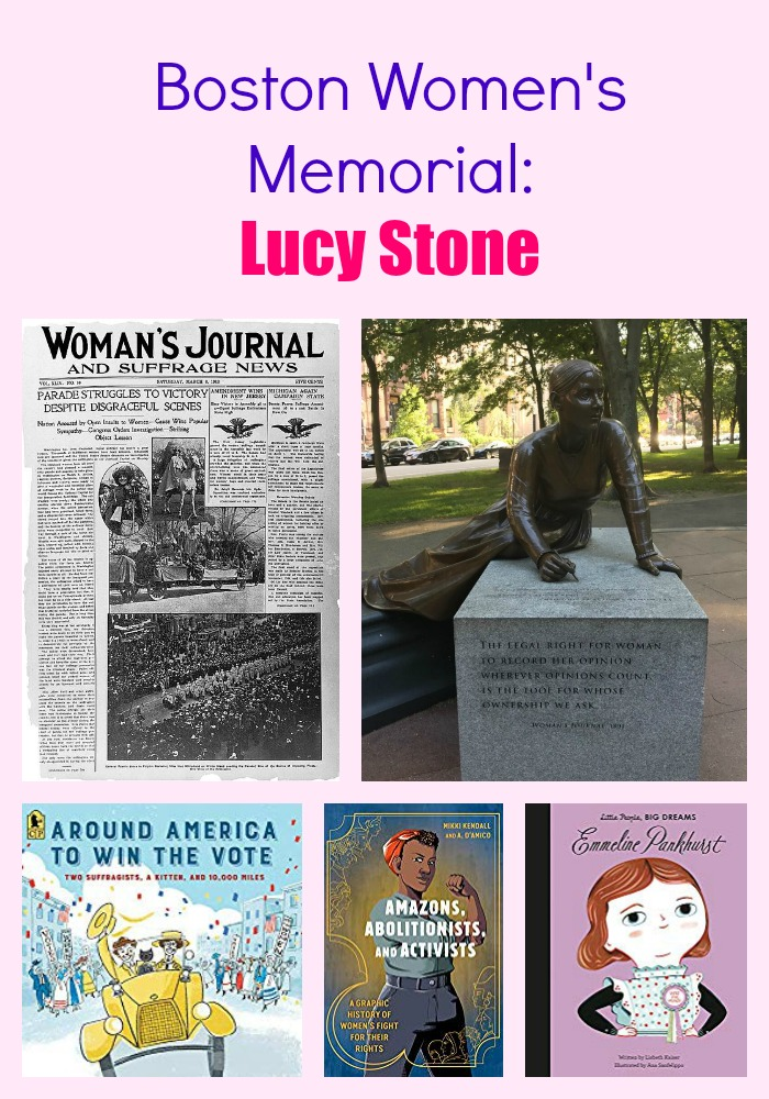 Boston Women's Memorial: Lucy Stone
