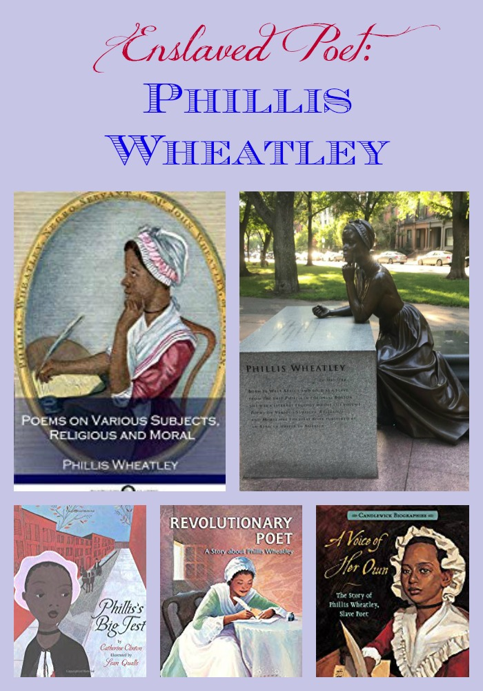 Enslaved Poet: Phillis Wheatley