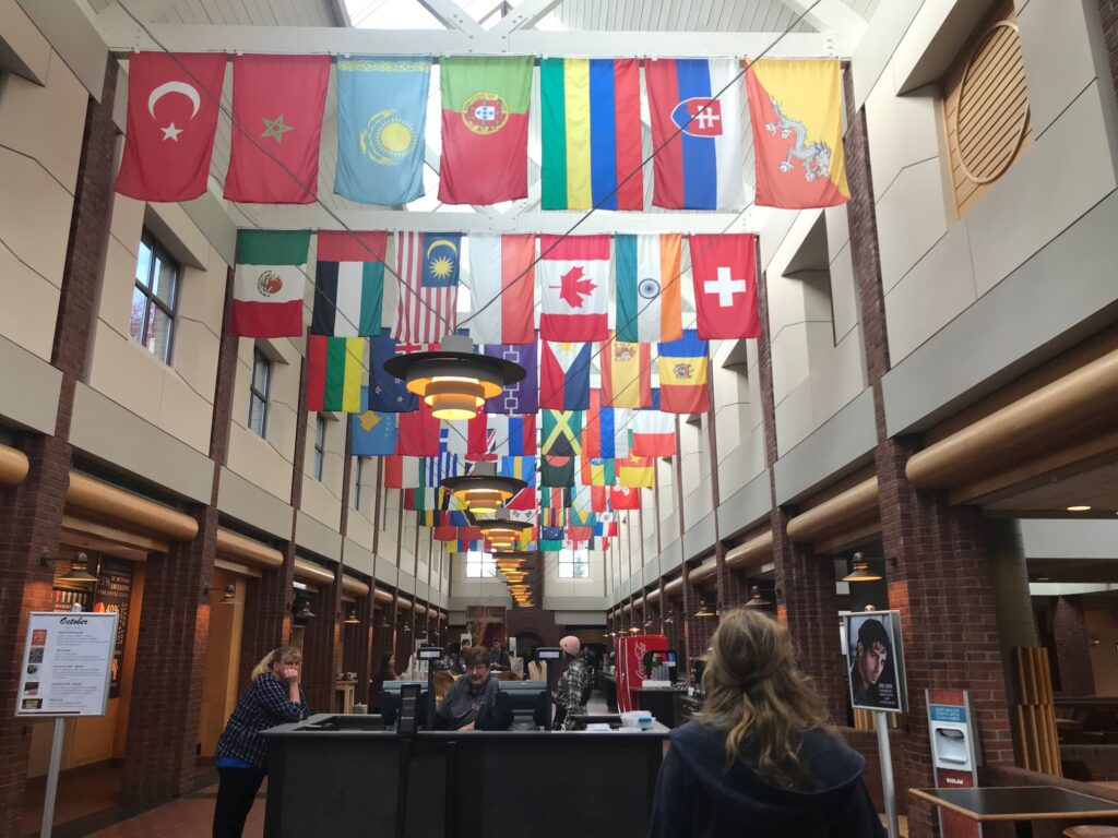Colgate University dining Hall