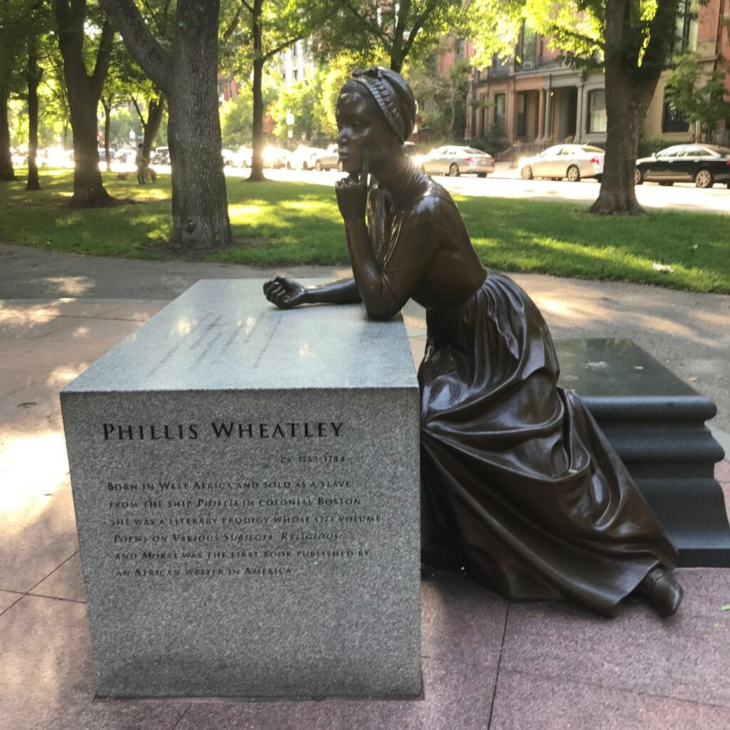 Boston Women's Memorial Phyllis Wheatley