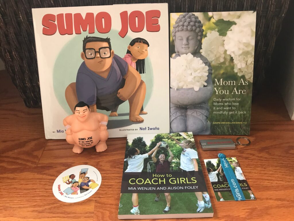 book swag pack giveaway