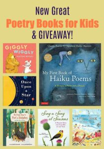 New Great Poetry Books for Kids & GIVEAWAY!