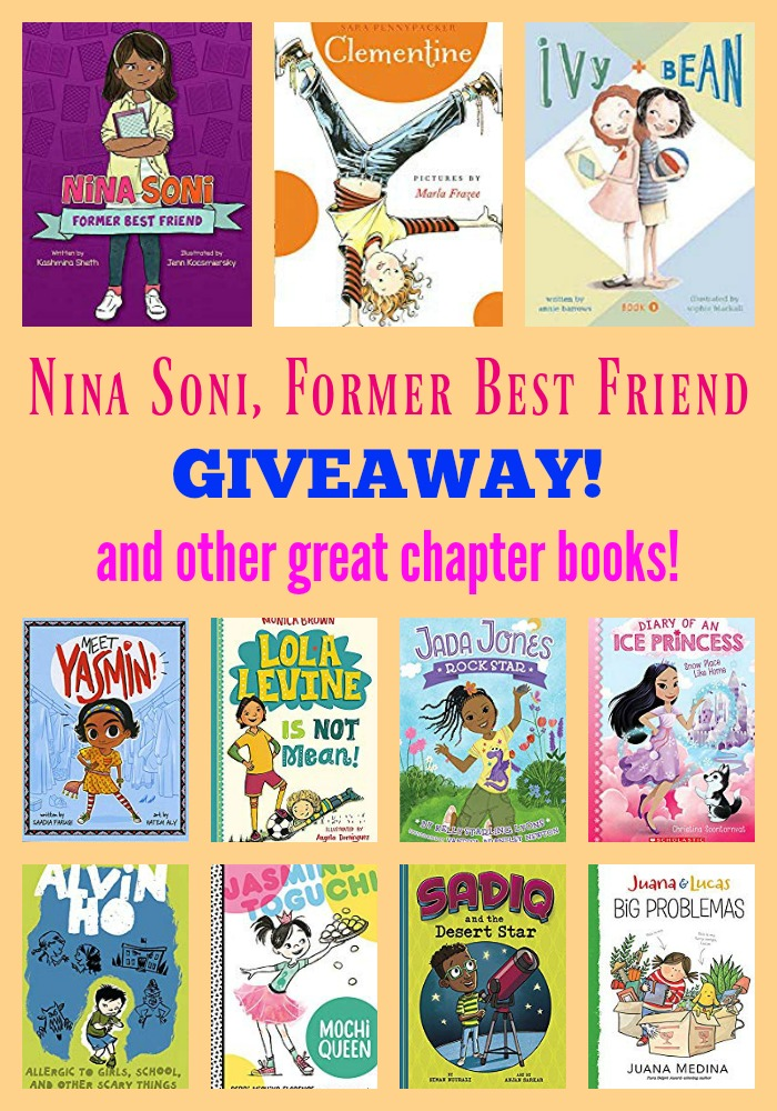 Nina Soni, Former Best Friend GIVEAWAY!