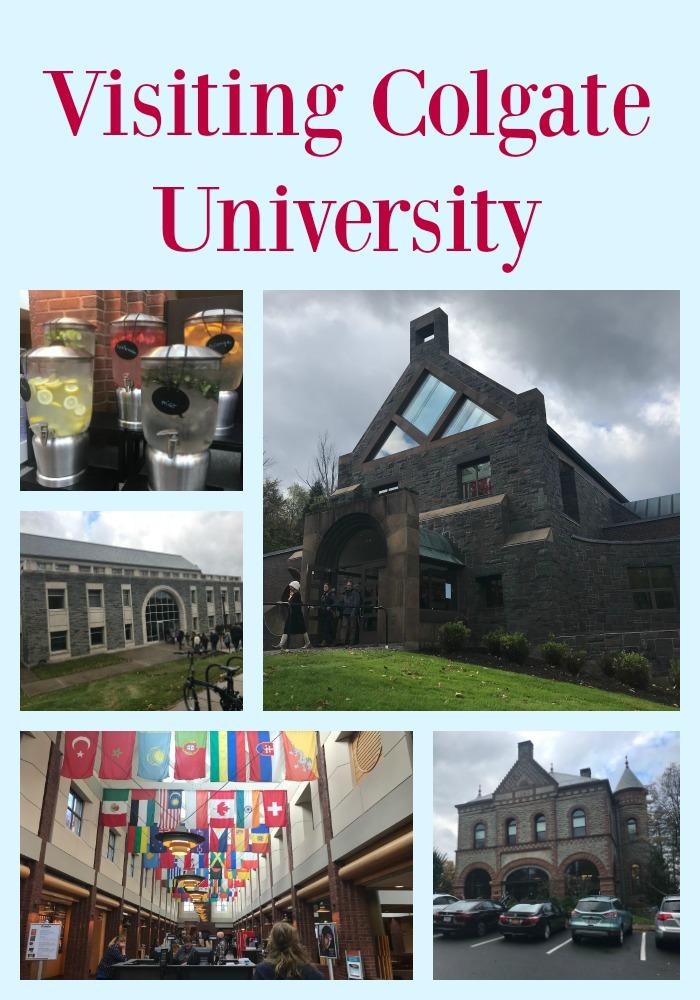 Visiting Colgate University