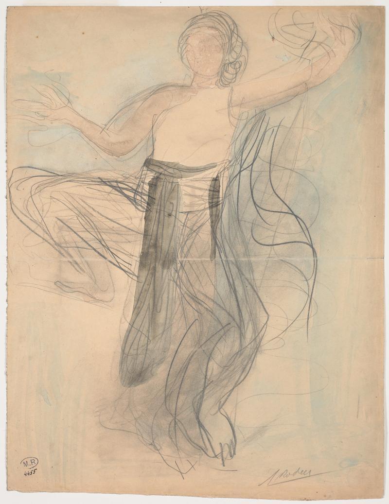 Rodin Les Danseuses Cambodgiennes