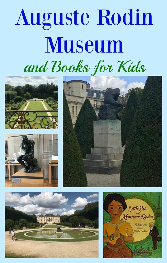 Auguste Rodin Museum and Books for Kids