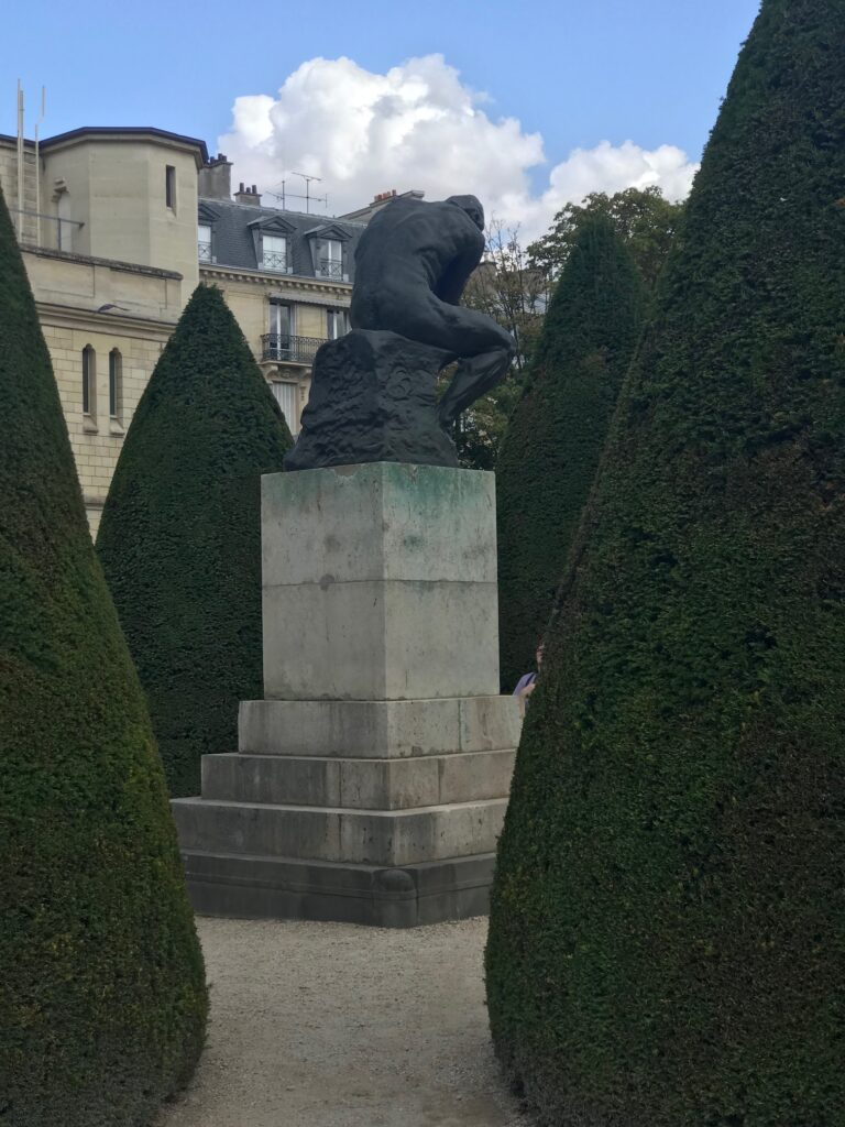The Thinker by August Rodin at Musee Rodin