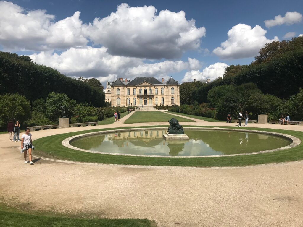 The Musee Rodin gardens
