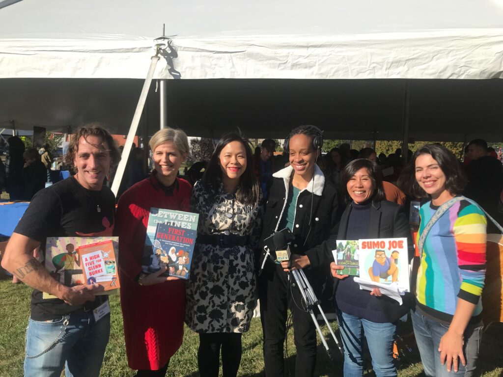 Sandra Neil Wallace, Phil Bildner, and Joyce Wan for KidLit TV