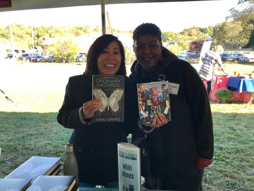 Nikki Grimes at Chappaqua Children's Book Festival 2019
