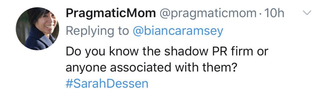 Sarah Dessen Twitter bullying