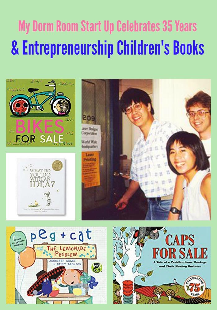 My Dorm Room Start Up Celebrates 35 Years & Entrepreneurship Children's Books