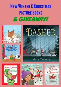 New Winter & Christmas Picture Books & GIVEAWAY!