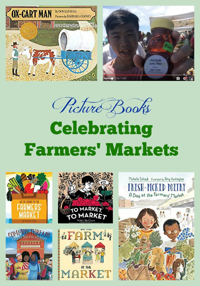 Picture Books Celebrating Farmers' Markets