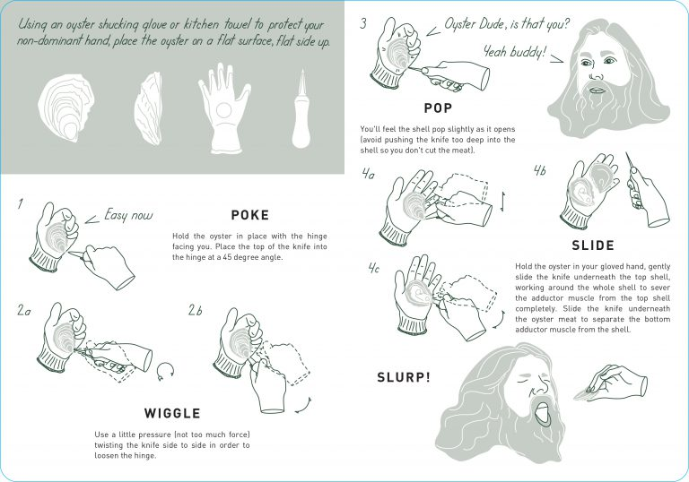 How to Shuck Oysters from Island Creek Oysters