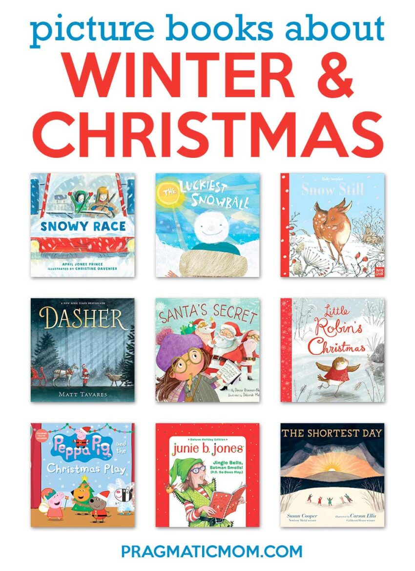 New Winter & Christmas Picture Books