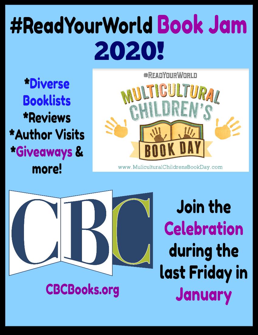 #ReadYourWorld Book Jam 2020 2020 PINTEREST