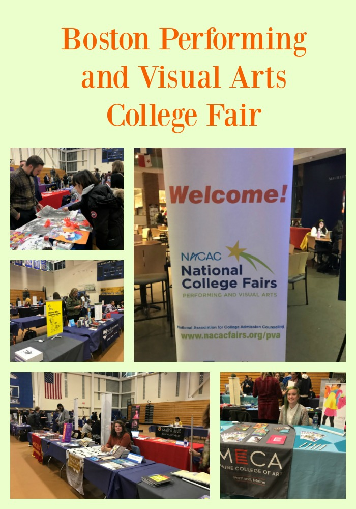 Boston Performing and Visual Arts College Fair at Emmanuel College
