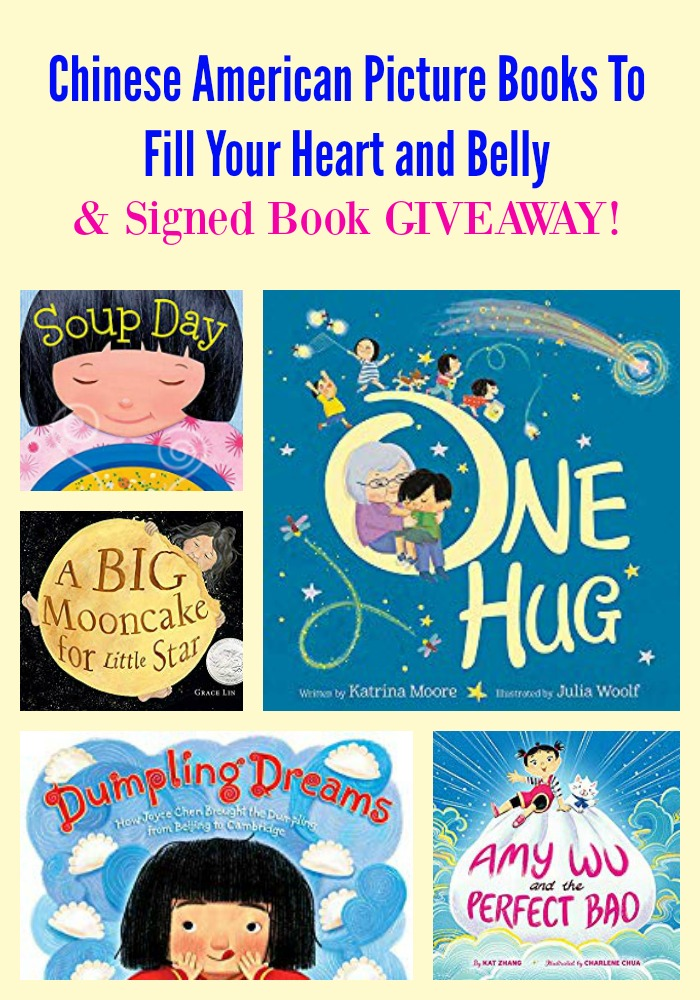 Chinese American Picture Books To Fill Your Heart and Belly & GIVEAWAY!
