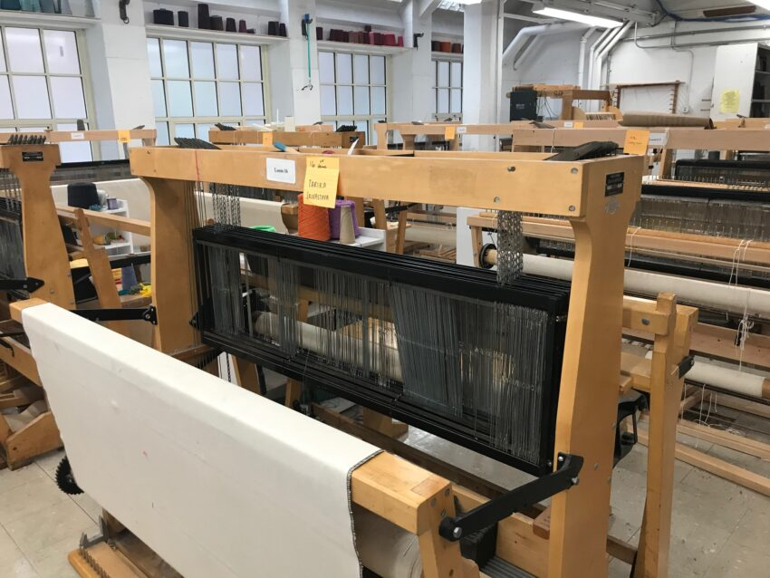 Loom for Textiles at RISD