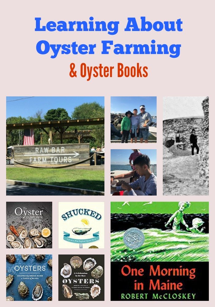 Learning About Oyster Farming & Oyster Books