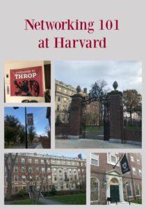 Networking 101 at Harvard