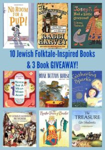 10 Jewish Folktale-Inspired Books & 3 Book GIVEAWAY!