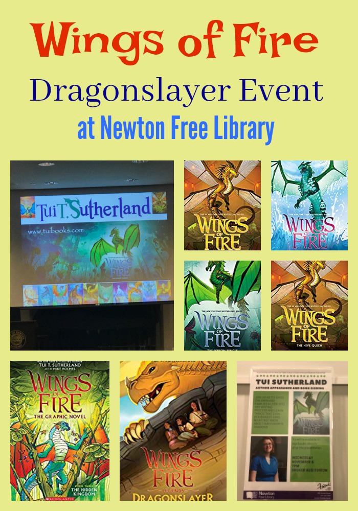 Dragonslayer Event at Newton Free Library