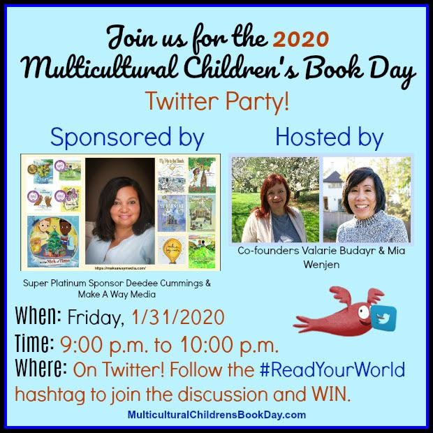 Multicultural Children's Book Day Twitter Party 2020