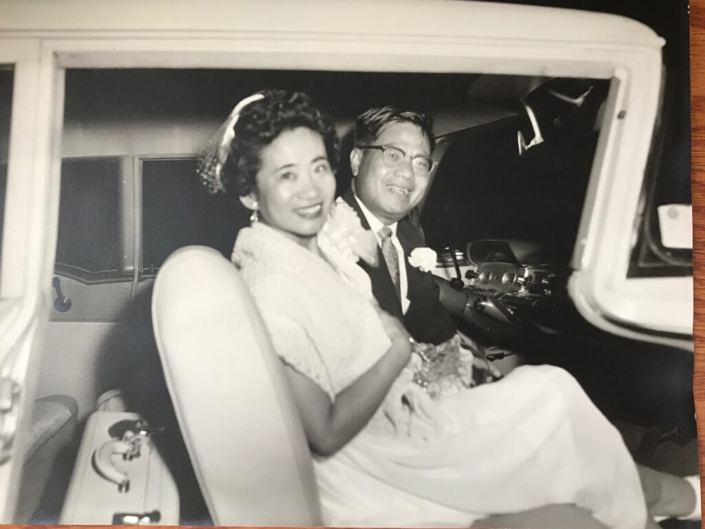 my mom and dad: Dr. Chien and Rose Wenjen