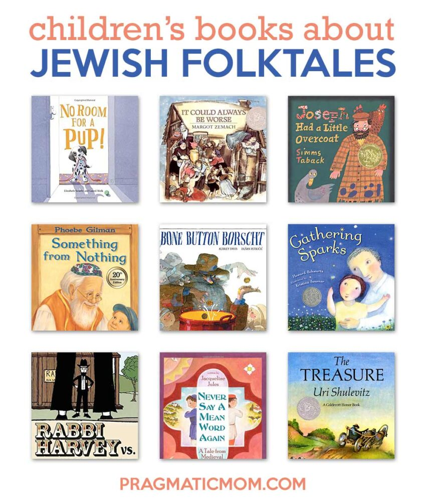 Jewish Folktale-Inspired Books