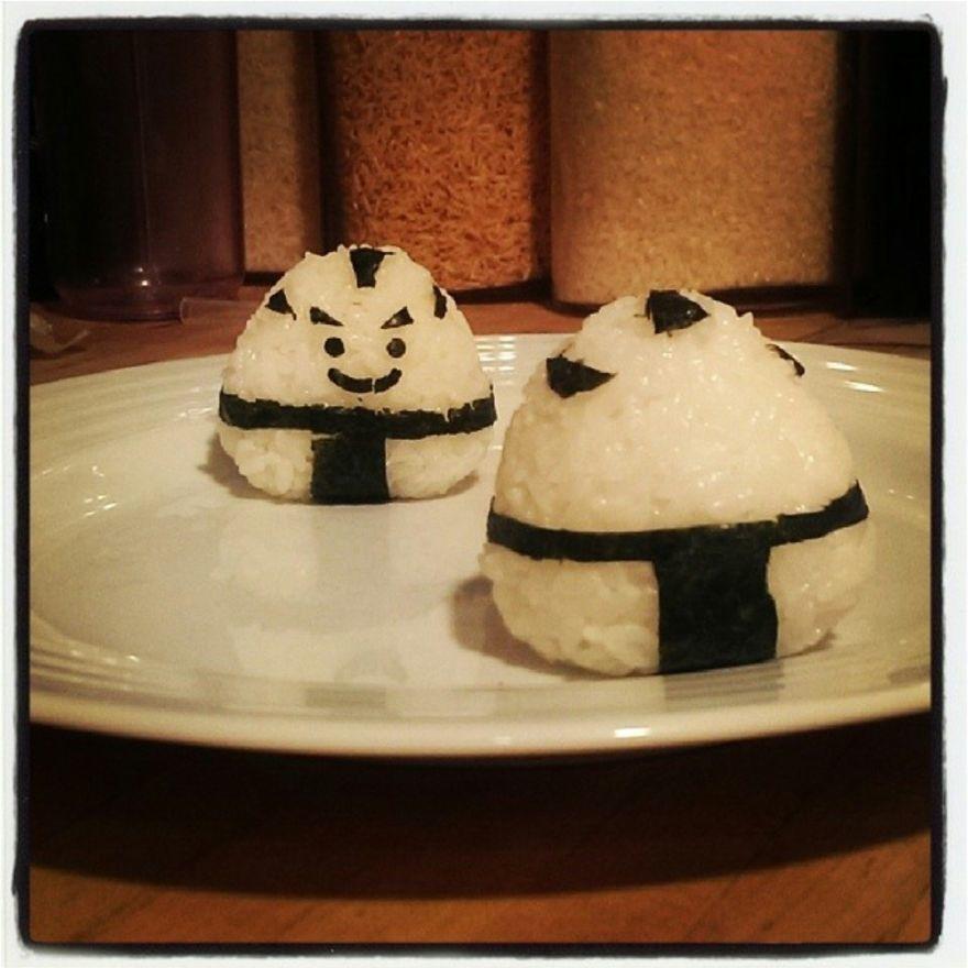 Sumo Rice Balls