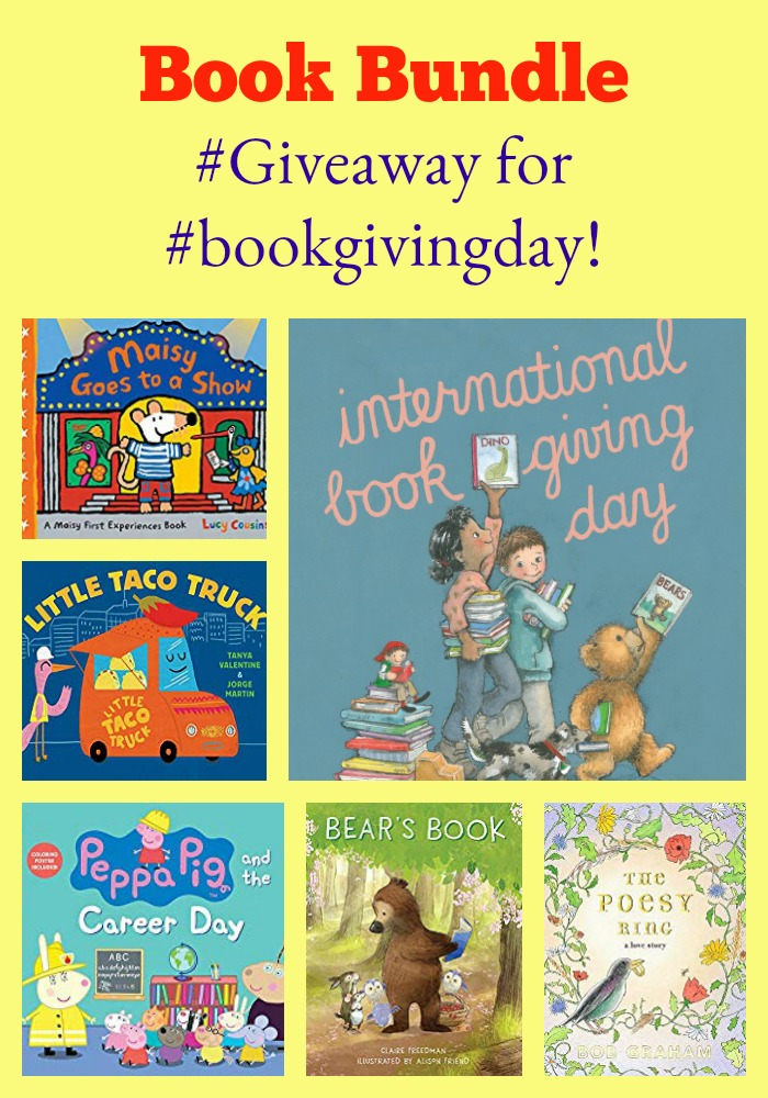 Win my Book Bundle #Giveaway for #bookgivingday!