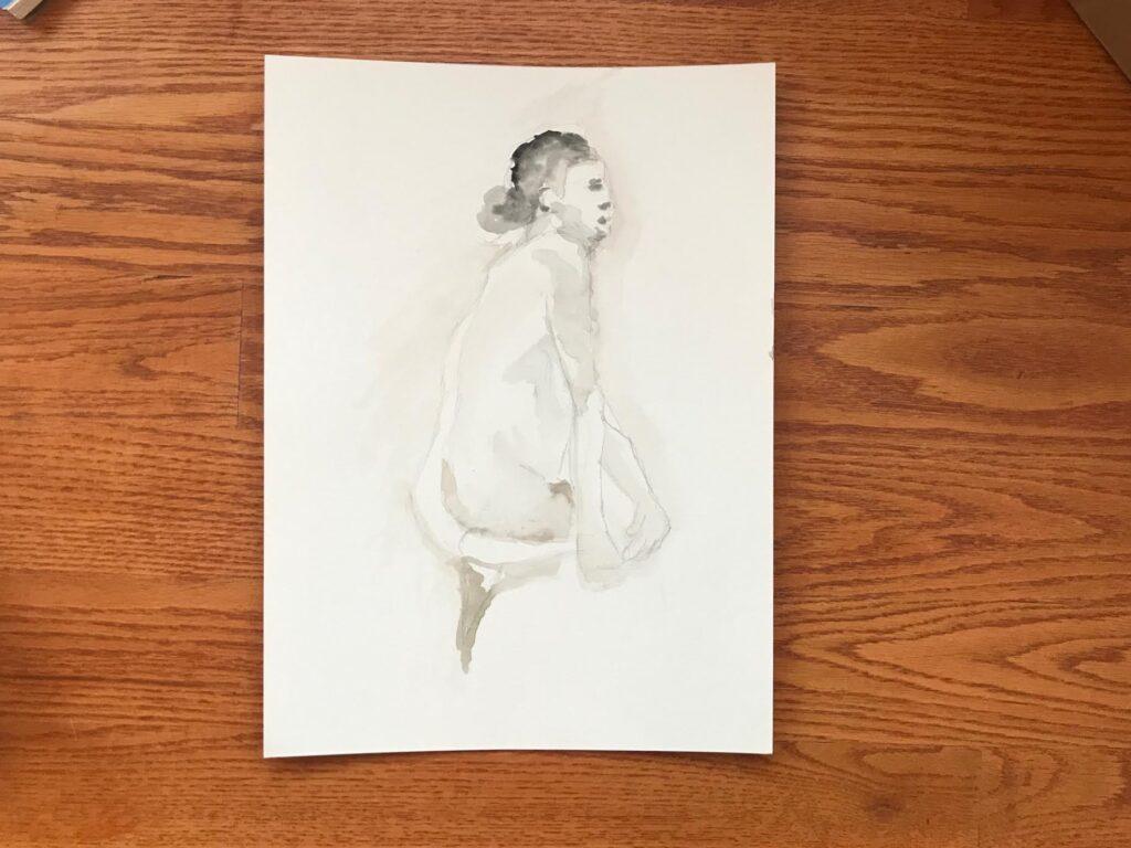 Mia Wenjen figure drawing