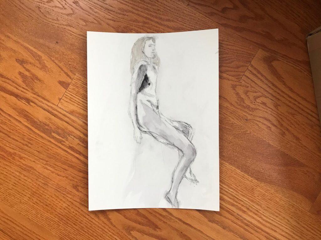 Mia Wenjen Figure Drawing Open Studio Class