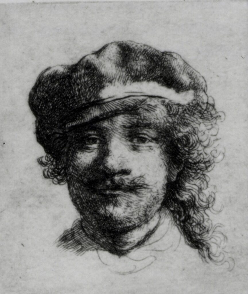 Self-Portrait – Rembrandt
